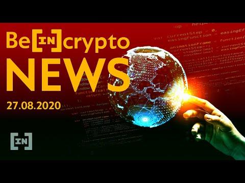 TEZOS+DeFi, BTCD, nowe ATH, Bounty Bitmex, YouTube znów ucina krypto? 27-08-2020 Beincrypto NEWS