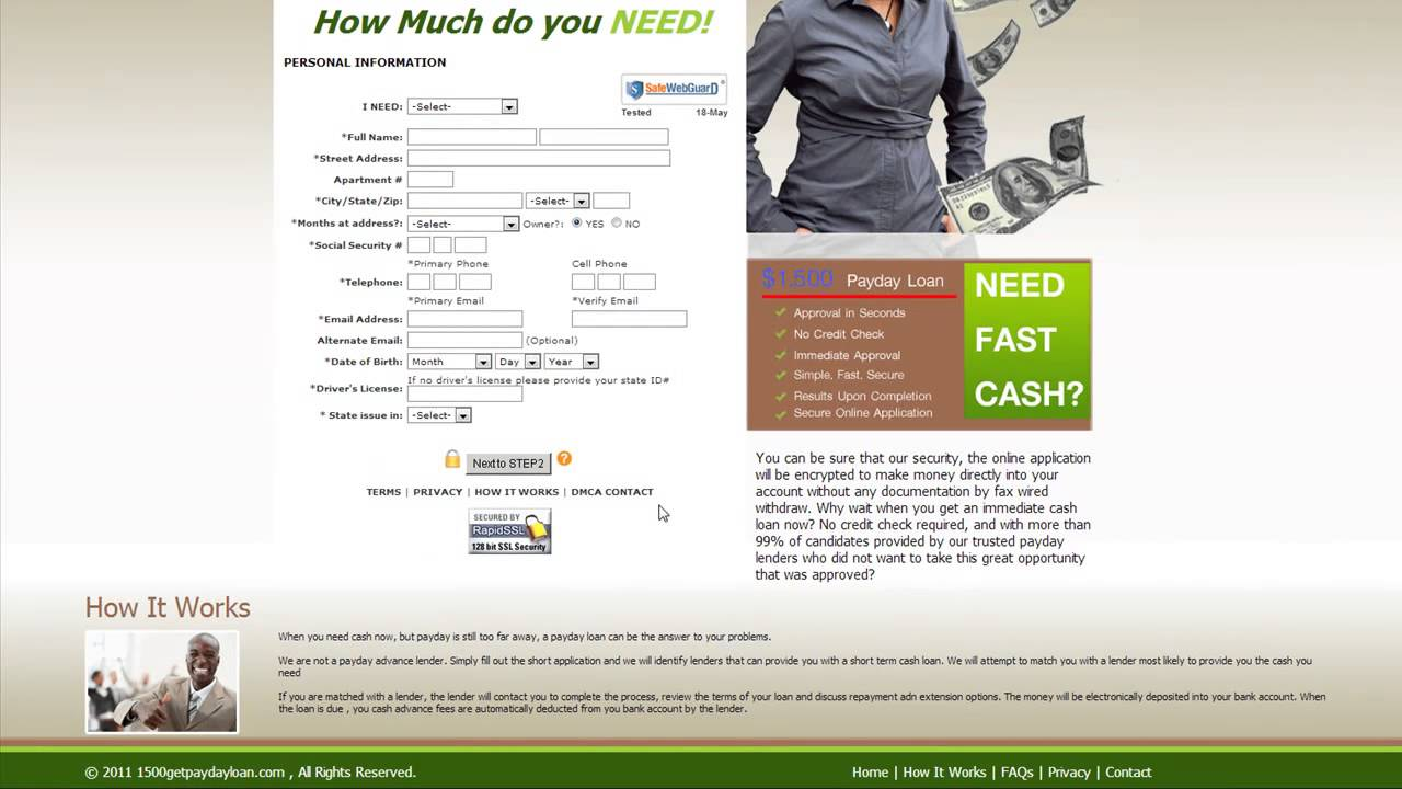 Payday Loans Online - Instant Payday Loans Online