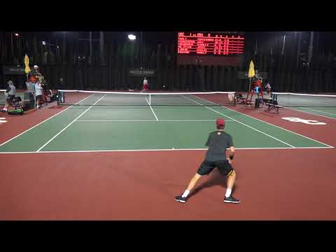 03 13 2018 Holt (USC) Vs Torpegaard (OHST) #1 men's tennis s