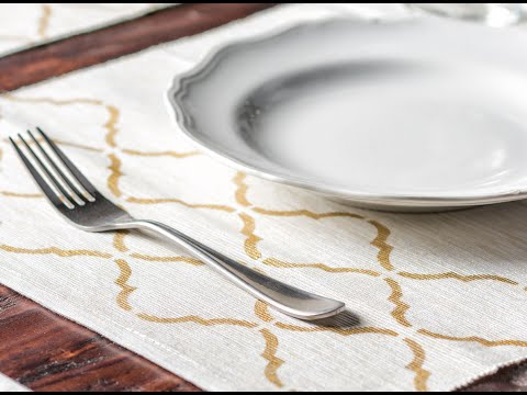 DIY Table Decorations | How to make Placemats | Apostrophe S | Perfectly Placed