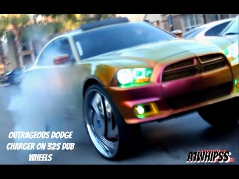 Outrageous Dodge Charger On 32s DUB Wheels (SNEAK PEEK UNTIL REAL SHOT & MAKEOVER )