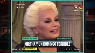 ¡Mirtha y un domingo terrible!