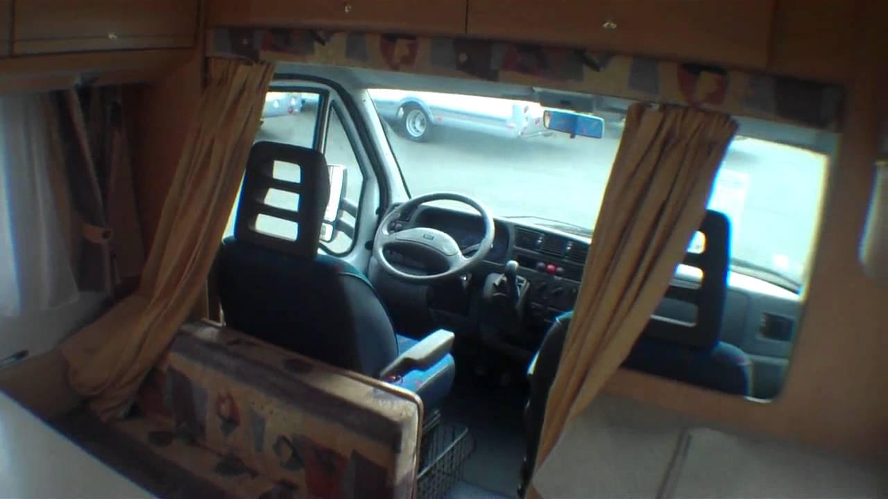 occasion pro camping car burstner t 595 profile 2001 la roche 85 vendee venansault 85190. Black Bedroom Furniture Sets. Home Design Ideas