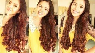 No heat Bubble Wrap Curls Take 2 -Heatless Princess Curls