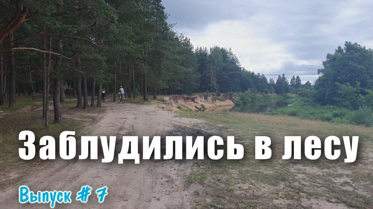 Дача. Заблудились в лесу. Поехали на велосипедах кататься. Лето 2020.