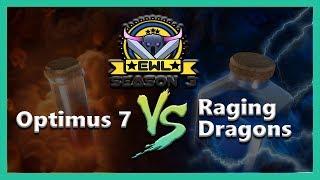 Elite War League S3 W10 | Optimus 7 Vs Raging Dragons | Ivory League |  War Recap
