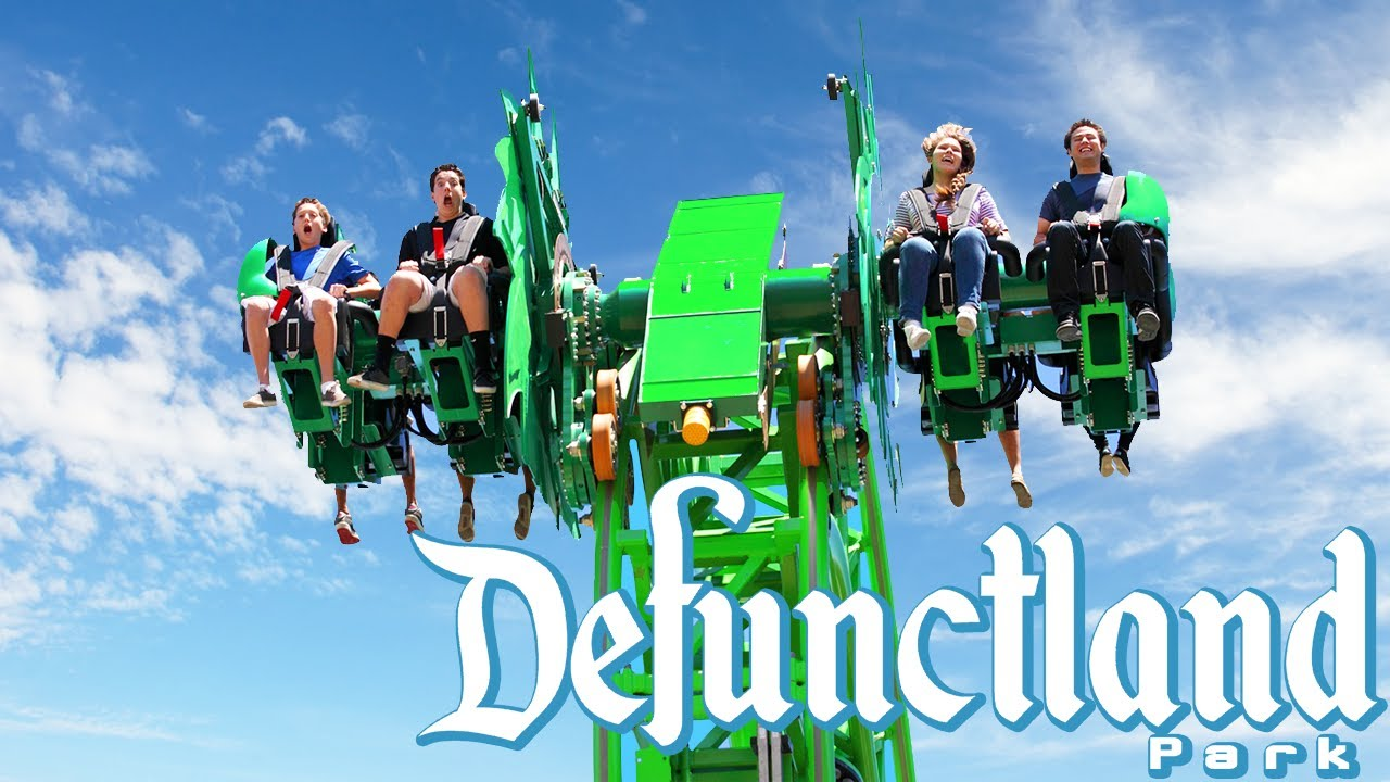 Download Defunctland: The History of the Worst Six Flags Coaster, Green Lantern: First Flight