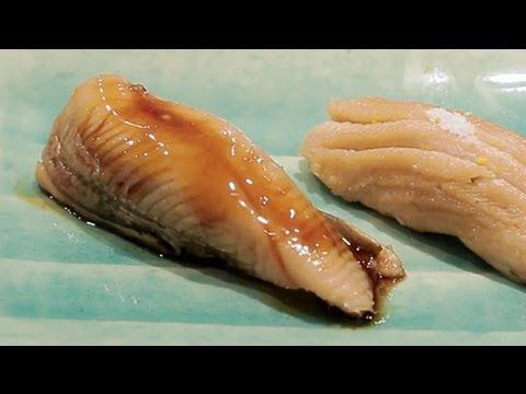 日本食ドキュメンタリー 江戸前穴子 Documentary of Japanese 'ANAGO SUSHI' 日本美食记录-江户前穴子