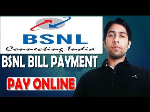 How To Pay Bsnl Postpaid Bills Online