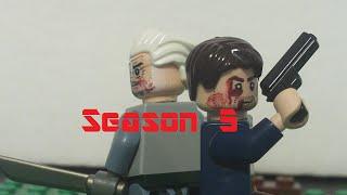 Lego The Walking Dead Season 5 Episode 12 - Consequences