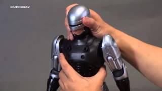 ENTERBAY 1:4 RoboCop 3 demonstration