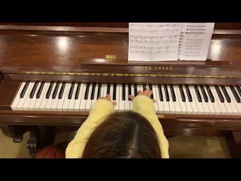 꽃들도 피아노 임스티비 코드반주