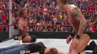 Randy Orton Kisses Stephanie Mcmahon