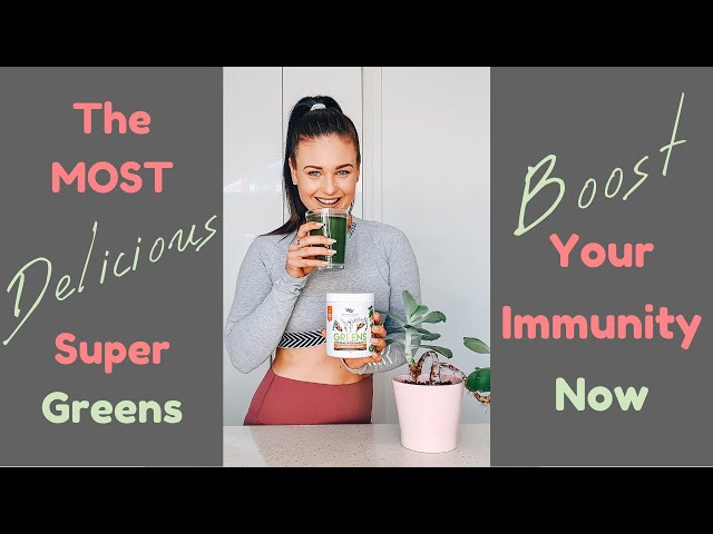 Actually DELICIOUS Immune Boosting Powdered Super Greens