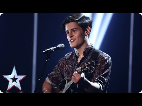 Reuben Gray hopes his ballad will land him in the Final | Semi-Final 4 | Britain's Got Talent 2017