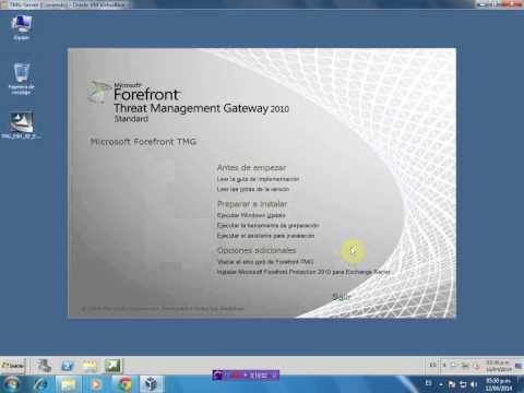 Instalacion y Configuracion de Forefront TMG 2010