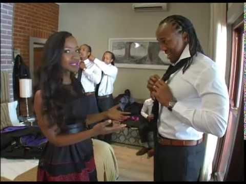Kgomotso and odwa ndungane wedding rings
