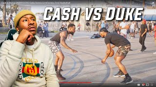 CASHNASTY VS DUKE DENNIS AND IMDAVISSS 2VS2 BASKETBALL!  THE UNDEFEATED DUO NBA 2K19