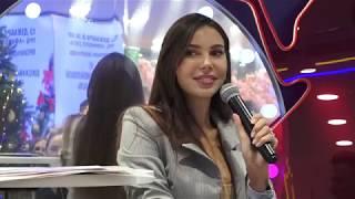 модель Оксана Самойлова в Л'Этуаль