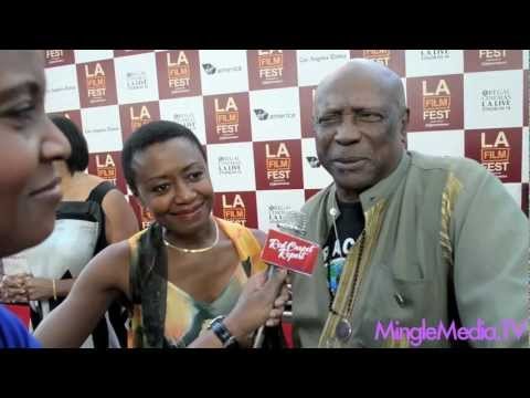Barbara Eve Harris, Louis Gosset Jr at Middle of Nowhere Red Carpet Los Angeles Film Festival