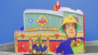 Feuerwehrmann Sam: Neue Adventskalender für Kinder & Weihnachten | Unboxing deutsch