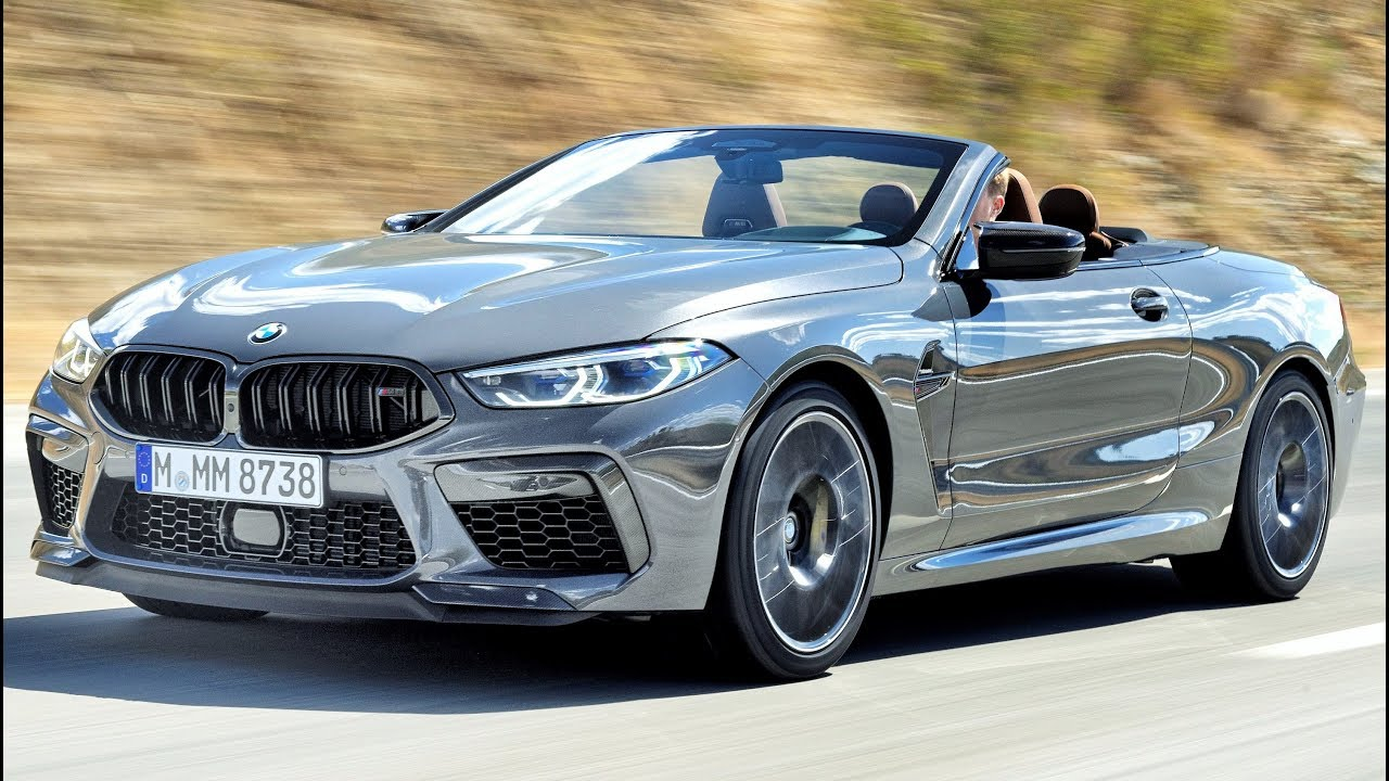2020 Bmw M8 Competition Luxury High Performance Convertible