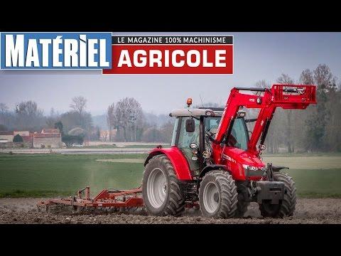 Test drive du MF 5610 by Matériel Agricole