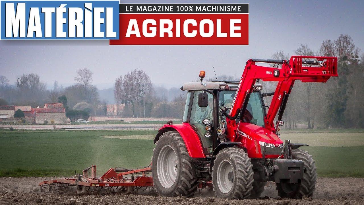 Test drive du mf 5610 by mat riel agricole youtube - Salon du materiel agricole ...