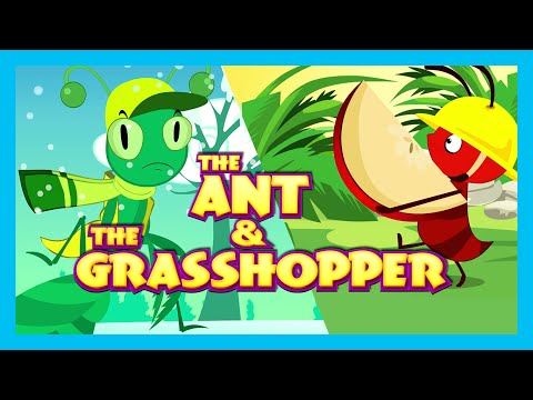the-ant-and-the-grasshopper-story-(english-short-story-for-kids)