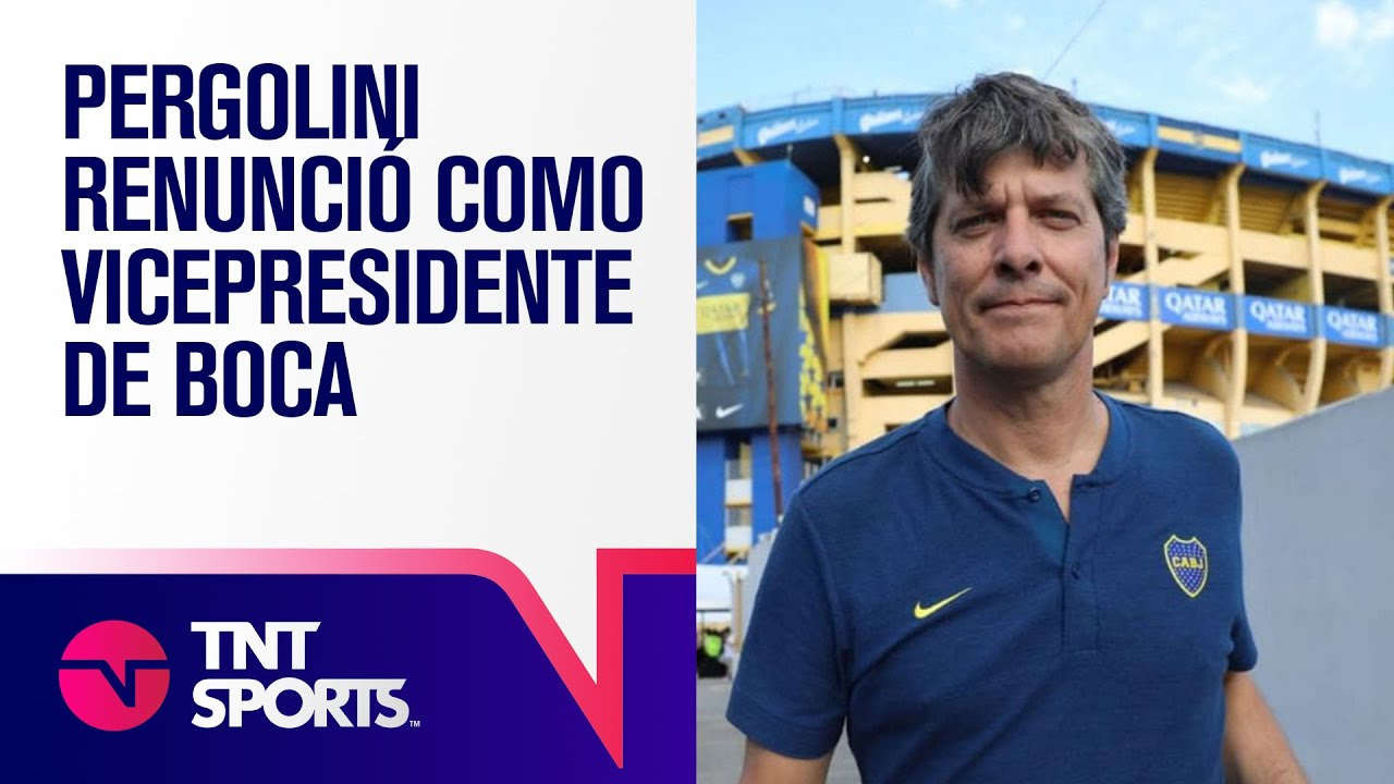 Pergolini renunció a la vicepresidencia de BOCA - YouTube
