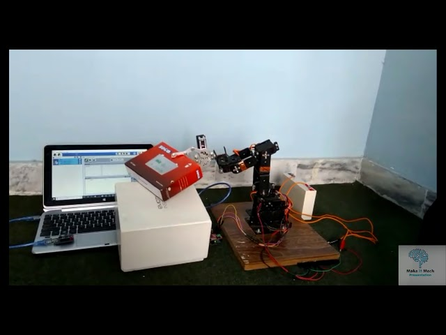 Arduino Pick and Place Robotic Arm | Self learning Robotic Arm project