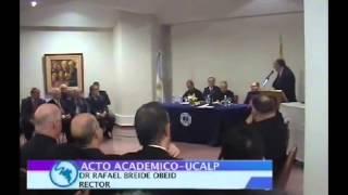 P. Alfredo Sáenz - Doctor Honoris Causa de la UCALP
