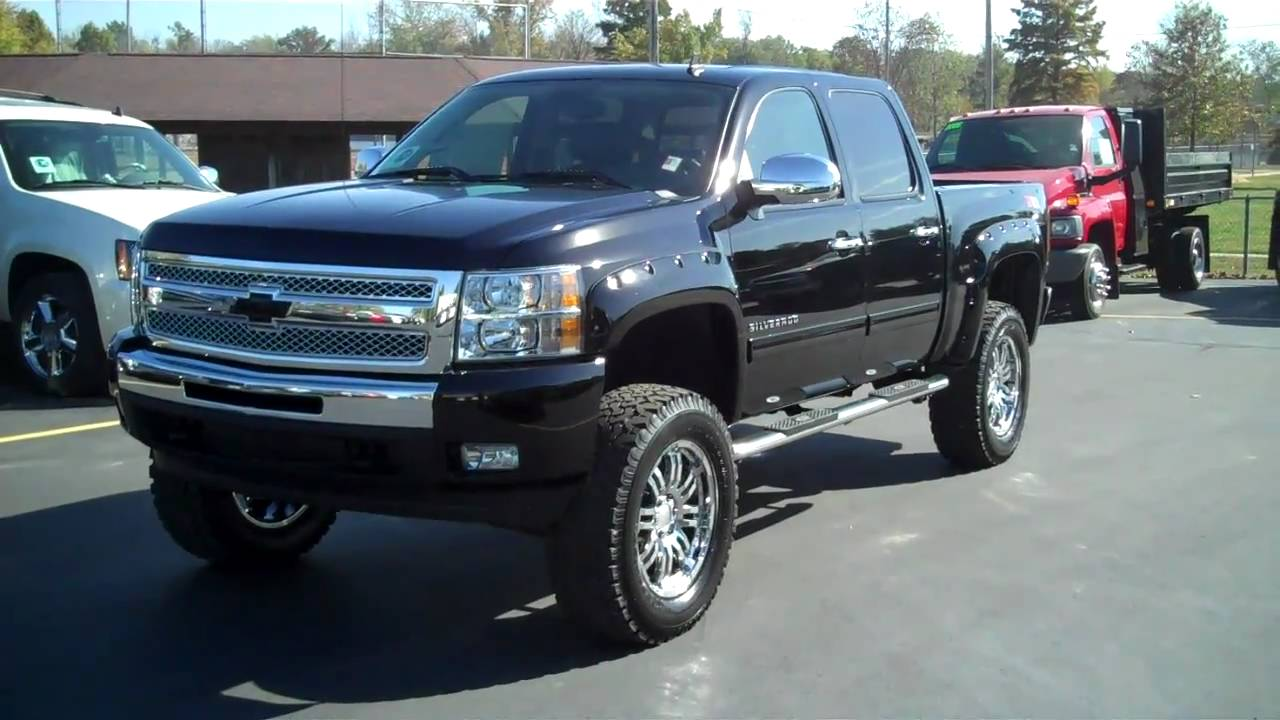 2011 Chevy Silverado Rocky Ridge Conversion Truck - YouTube