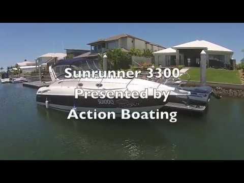 Sunrunner 3300 for sale, Action Boating, boat sales, Gold Coast, Queensland, Australia