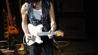 Jeff Beck - Cause we ended as lovers - LIVE PARIS 2014