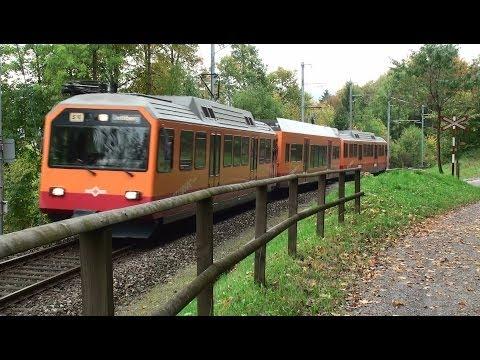 Uetlibergbahn Zürich - Tagtäglich unterwegs - Zug, trainfart, trains