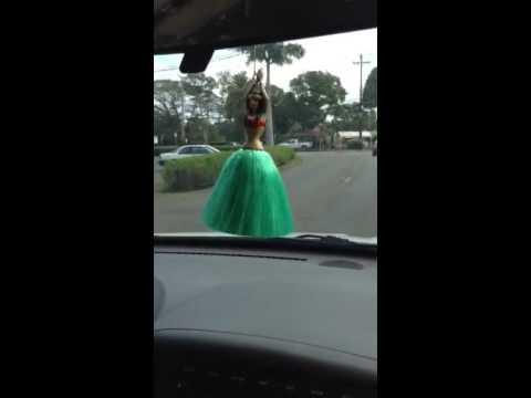 Hula Girl In Car