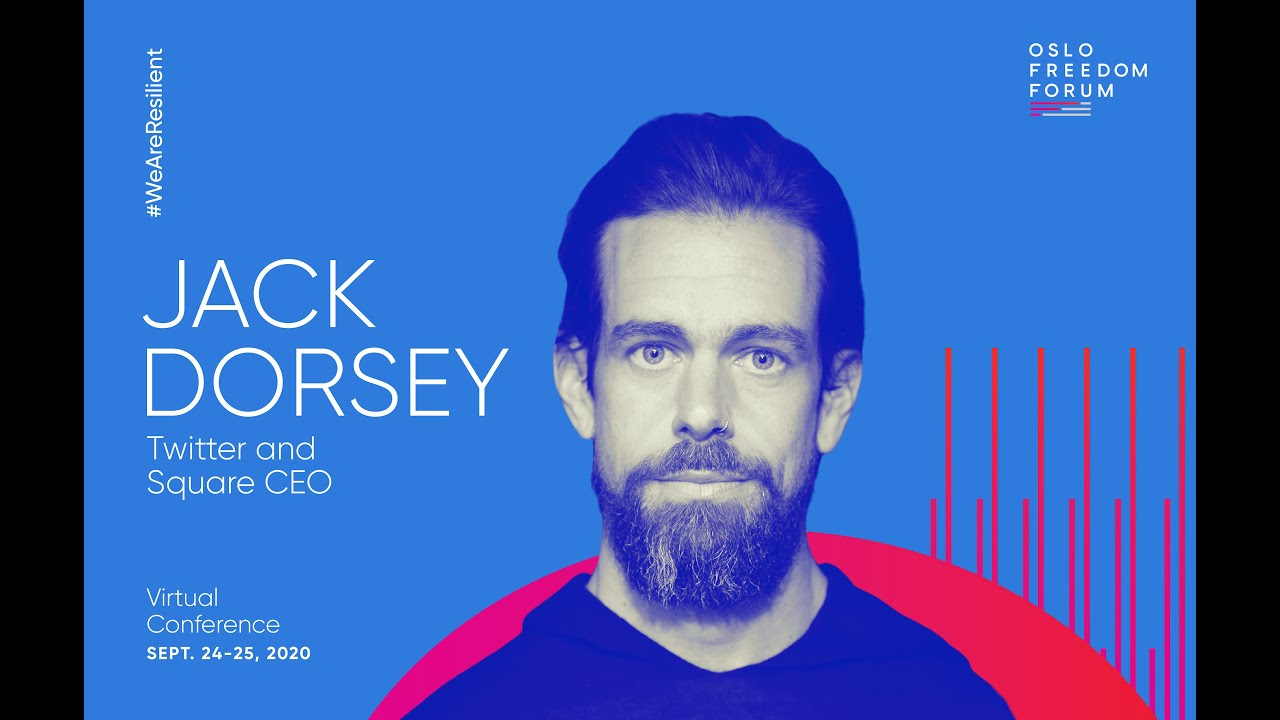 Jack Dorsey Discusses Disinformation Bitcoin And The Open Internet 2020 Oslo Freedom Forum Youtube