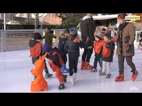 Une patinoire pour Noël