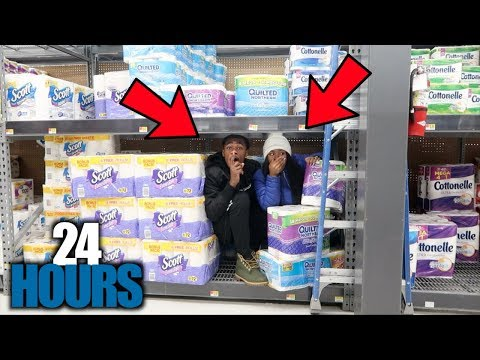 OVERNIGHT STAY AT WALMART 24 HOURS‼️