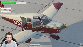 Just Flight Piper PA-28 WARRIOR II for X-Plane 11 My first flight
