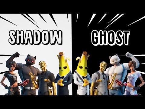 NEW GHOST & SHADOW SKINS EXPLAINED - How To Unlock & Choose: Fortnite C2S2