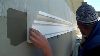 видео Декор фасада дома