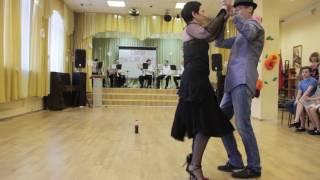 Весенние танцы 2017 Волкова Ирина - Жданов Владислав