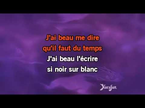 Karaoké Pas toi - Génération Goldman *