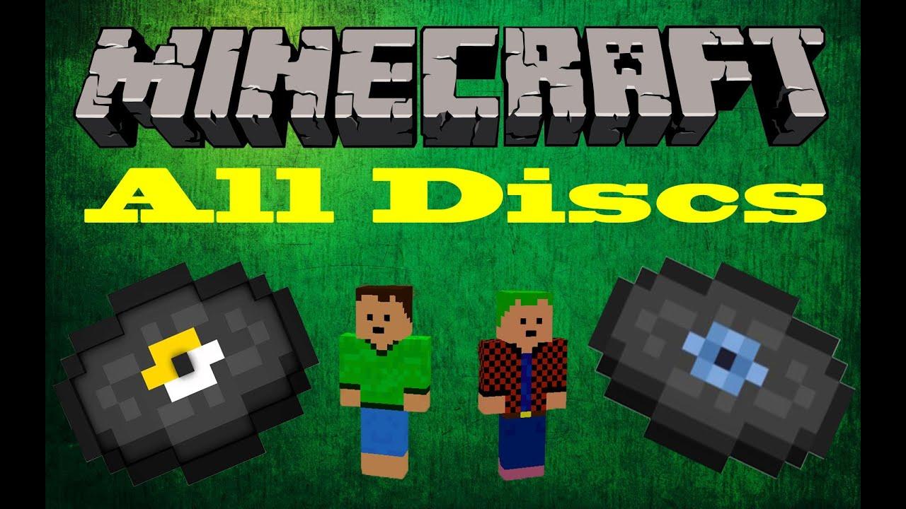 how to get discs in minecraft