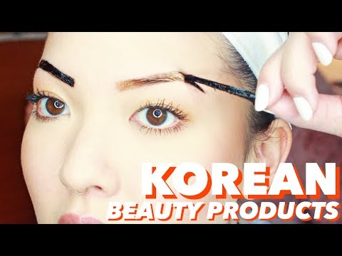 Korean Beauty Products You Should Try! | Eyebrow Stain, Jelly Peel Off Mask | soothingsista