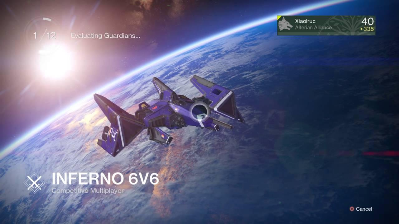 Destiny matchmaking evaluating guardians