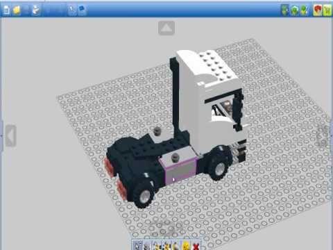 lego digital designer truck by nicjo25 youtube. Black Bedroom Furniture Sets. Home Design Ideas