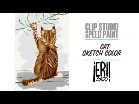 Speed Painting • Back Cat